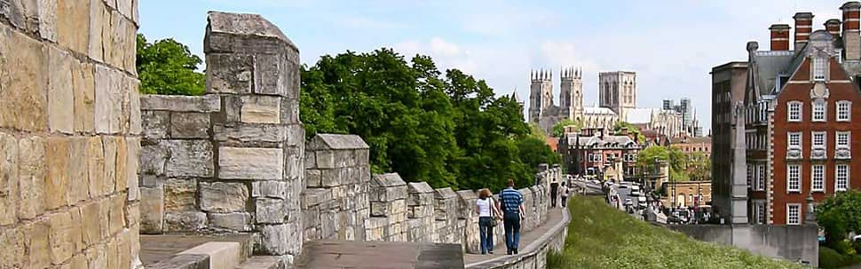 City Walls and York Minster
