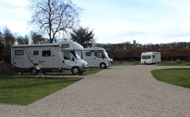 Wortley Hall Caravan Site