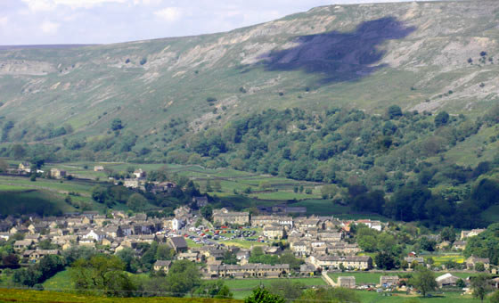 Reeth from Grinton Moor