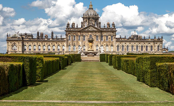 Castle Howard, one of Yorkshire's historic stately homes and houses