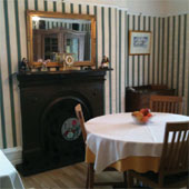 grassington bed and breakfast upper wharfedale b amp b quot divided lands quot dining table in etched zinc and elm smoke